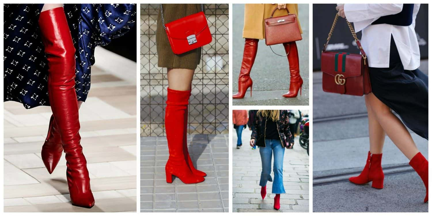 cdd1d4924 Red Boots: The 2018 Biggest Trend That Goes With Everything! – The ...