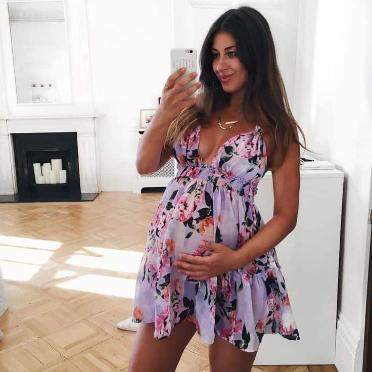 e897a2dacbc Pregnancy Style  Non-Maternity Dresses! – The Fashion Tag Blog