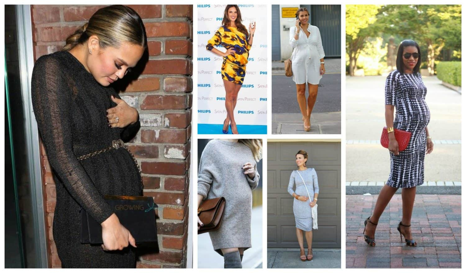 Pregnancy style non maternity dresses the fashion tag blog how to wear dresses for a perfect pregnancy style ombrellifo Choice Image