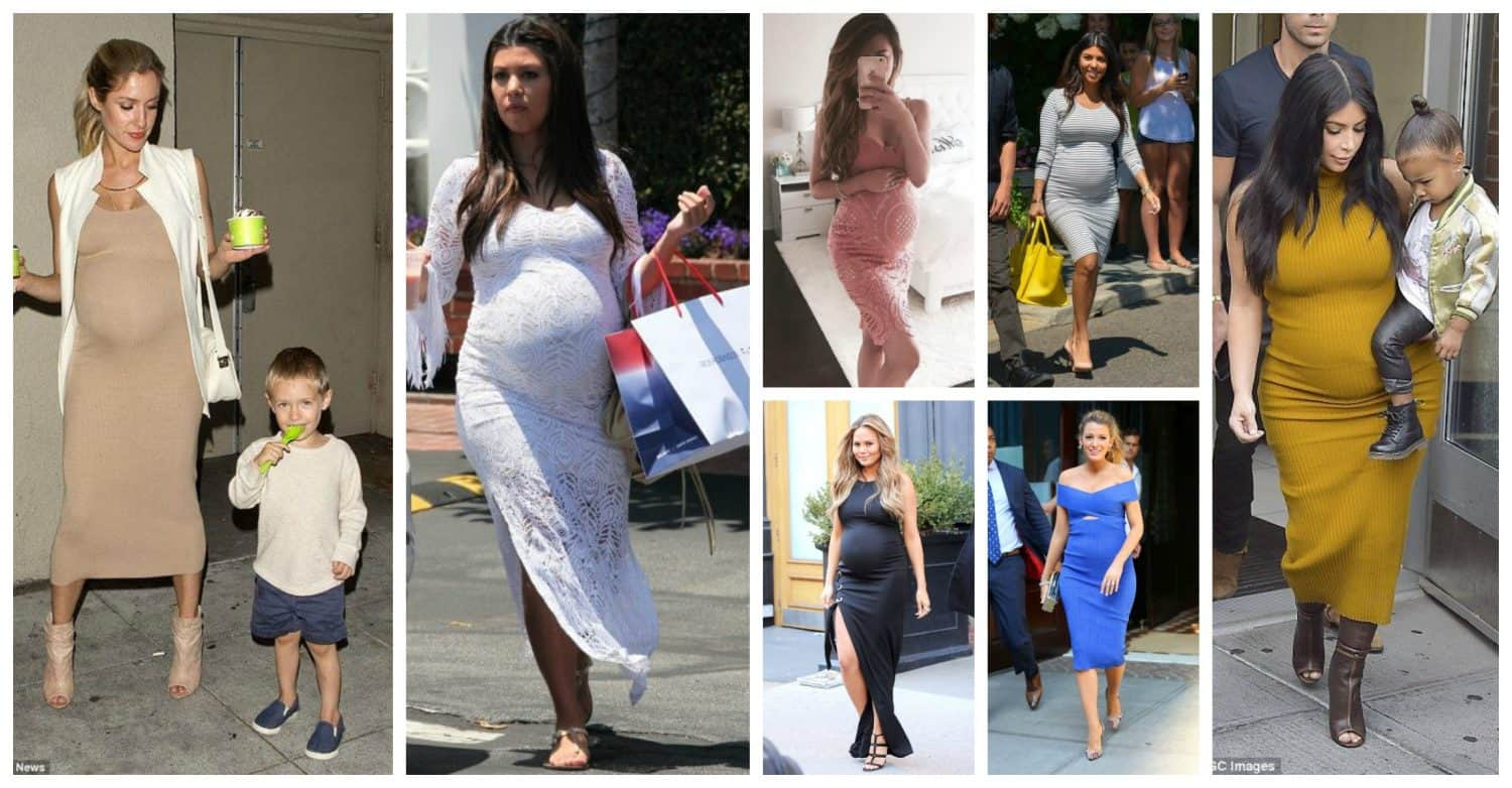 Pregnant Style Day Time Dresses The Fashion Tag Blog