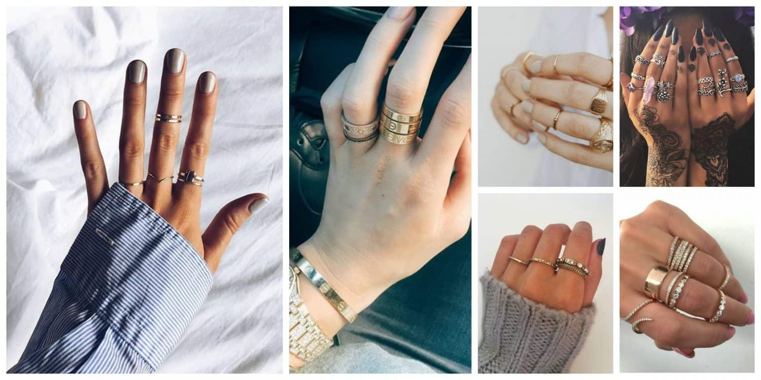 Rings 2018 new jewellery trends the fashion tag blog for Latest fashion jewelry trends 2012