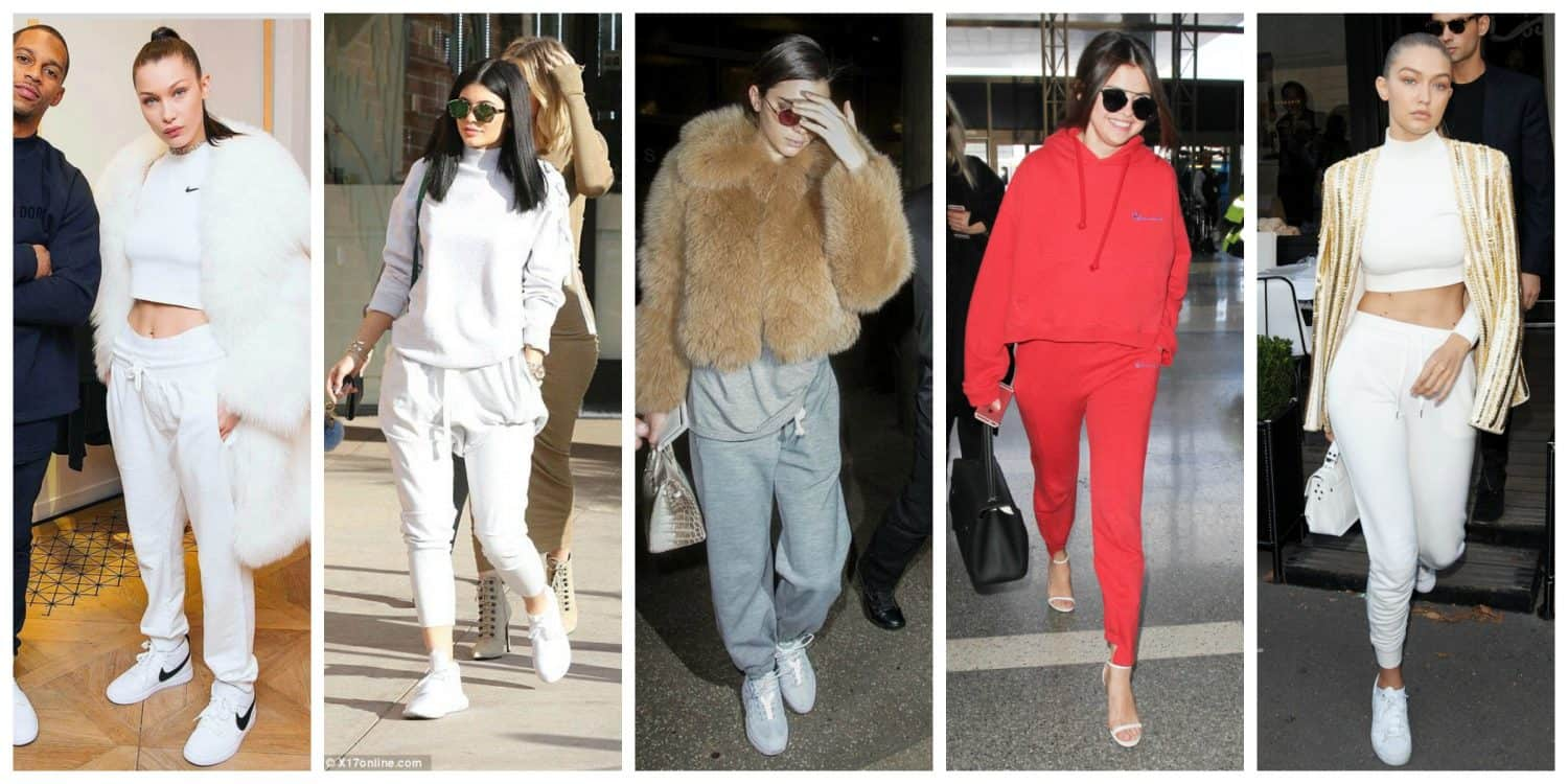 Sweats Celebrity Street Style The Fashion Tag Blog