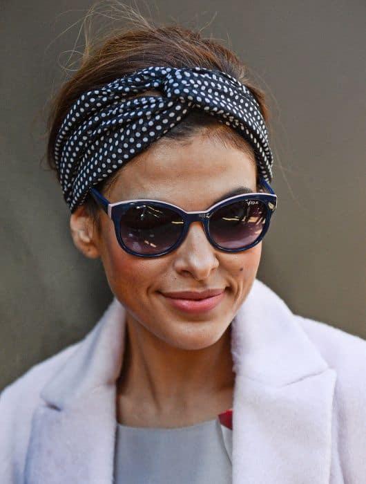 A Million Ways To Wear A Headscarf The Fashion Tag Blog
