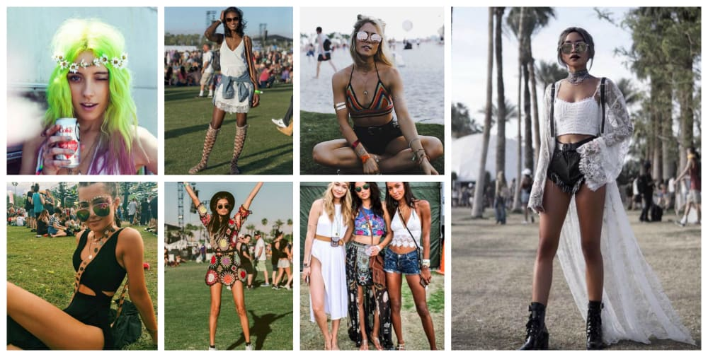 What To Wear To Music Festivals 4 Festival Fashion Styles