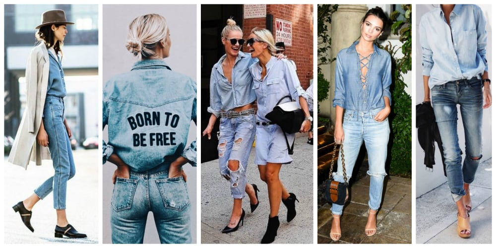 8a678f4305 The light denim shirt looks amazing in that thin and summer light fabric