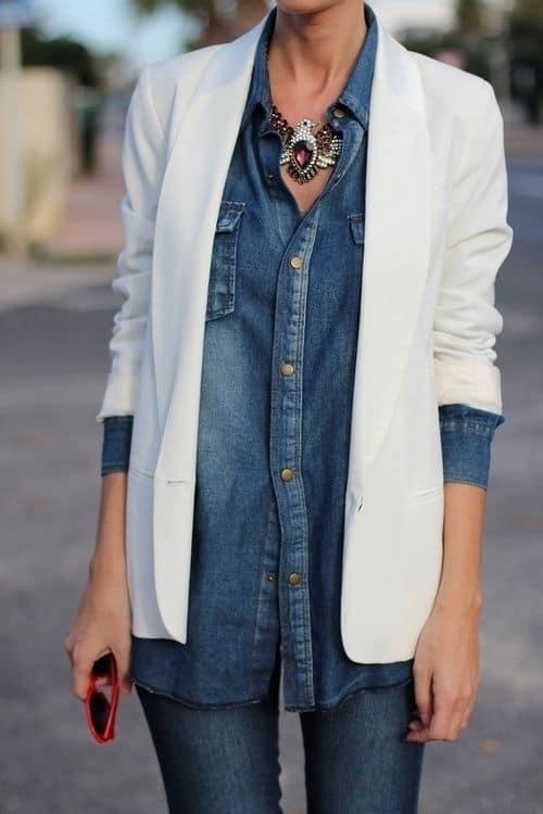 street-style-denim-shirt-3.jpg (500×750)