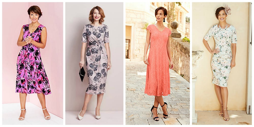 Summer Dresses For Wedding Guest. Riya Print Tiered Dress With ...