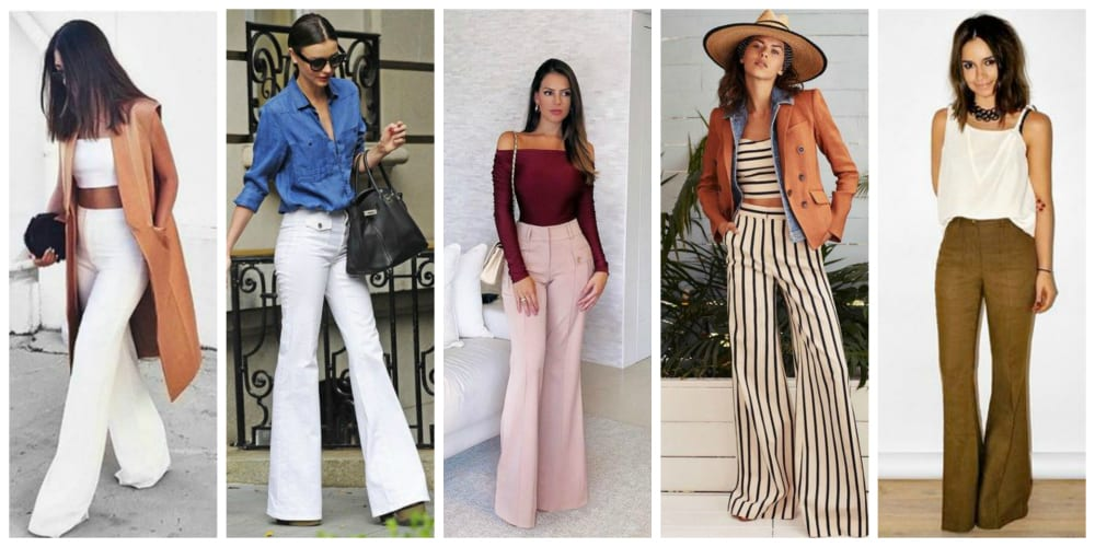 Flare Pants Are Making A Comeback In 2018!