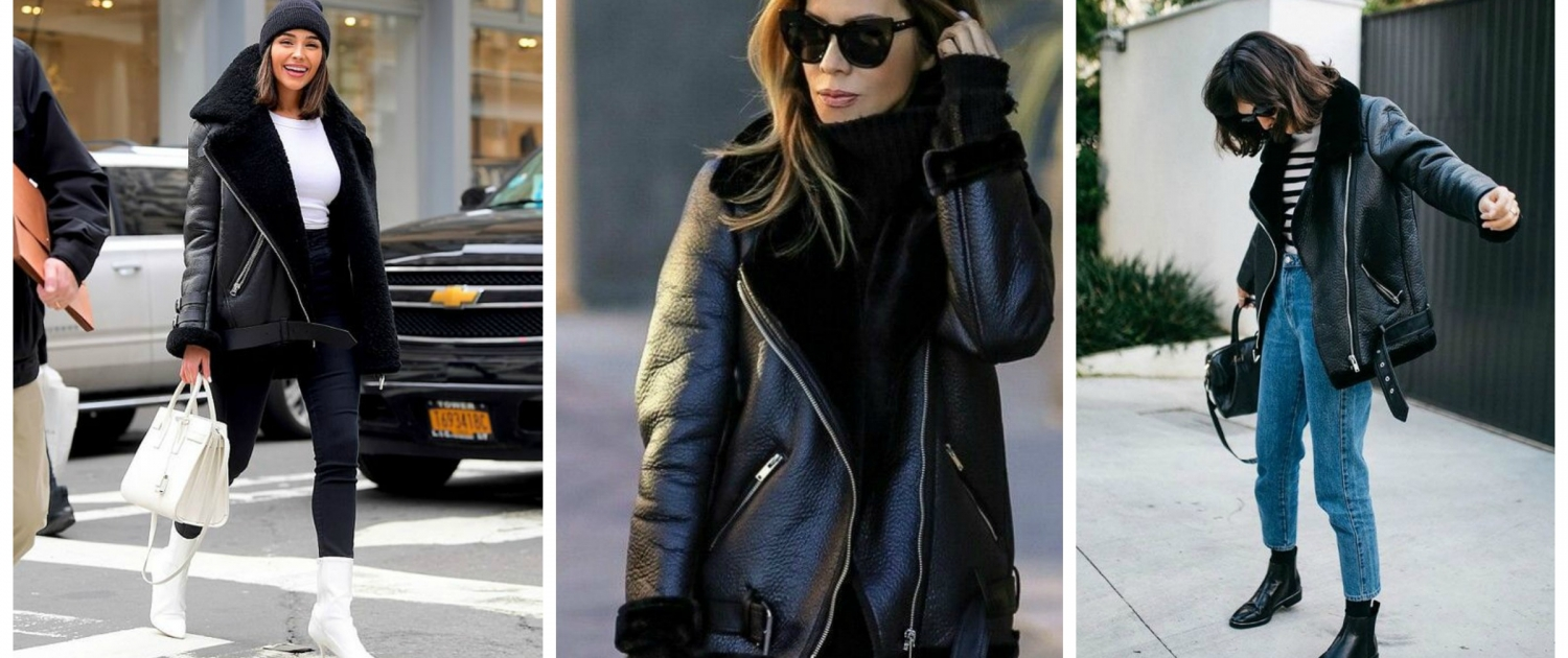 4 Leather Jacket Styles And How To Wear Them The Fashion Tag Blog
